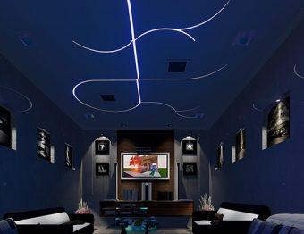 Fitas de LED realçam a decoração interna e o bolso agradece